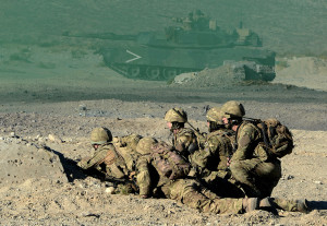 Royal Marines Live Firing Exercise in the USA